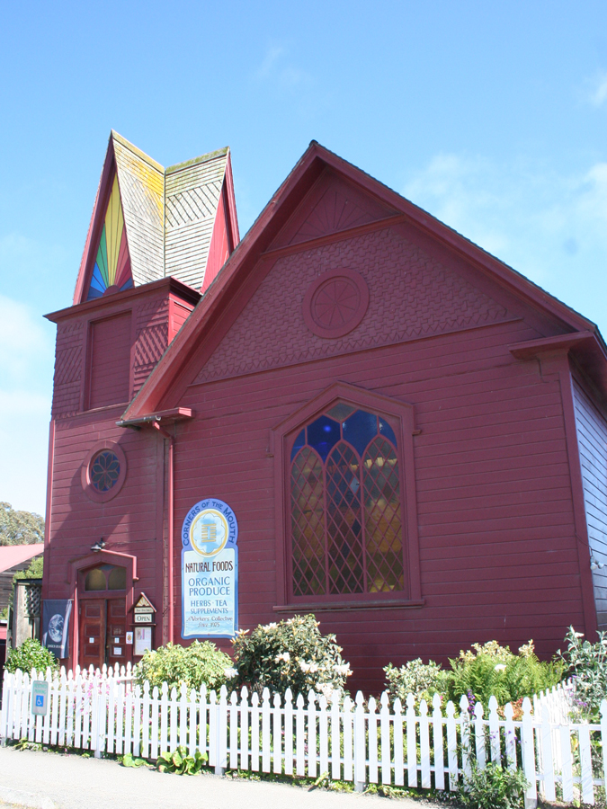 Mendo-church:organic food