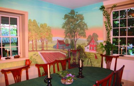 salem aug zeveley inn, dining room