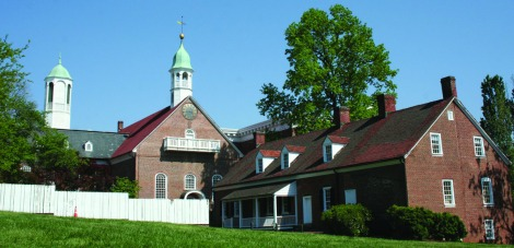 Salem, Moravian church