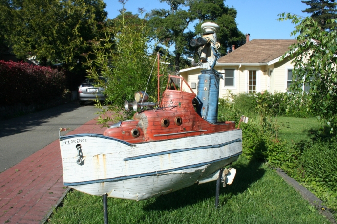 Sebast art-boat captain
