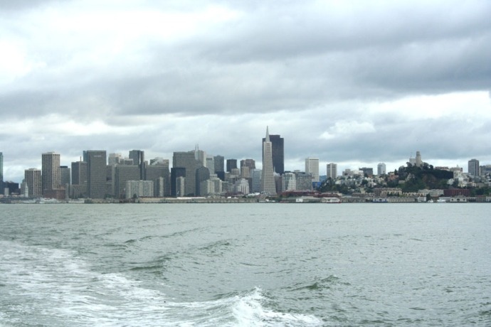 SF-Leaving SF on the ferry
