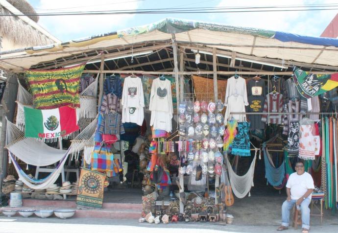 tulum souvenir shop