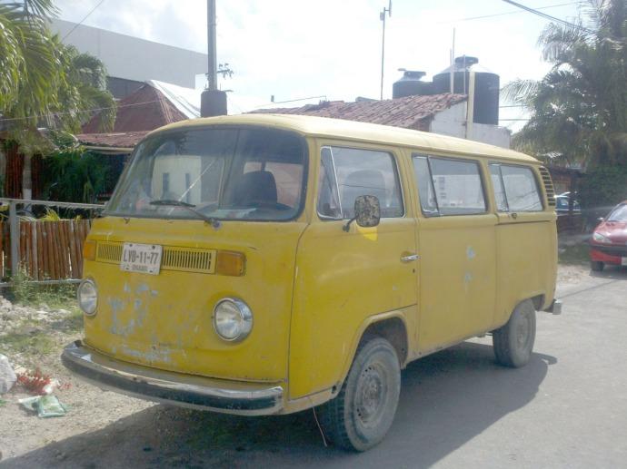 tulum, VW van