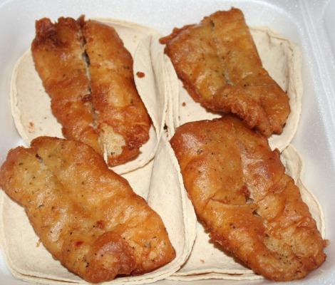 urge fish tacos