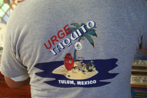 Urge shirt back