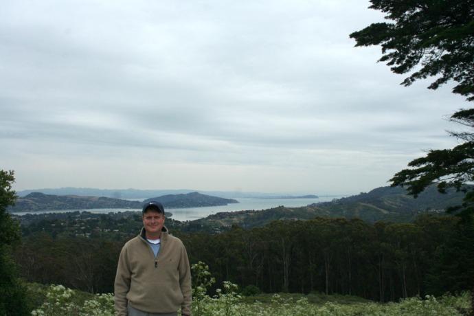 Wally on Mt. Tamalpais