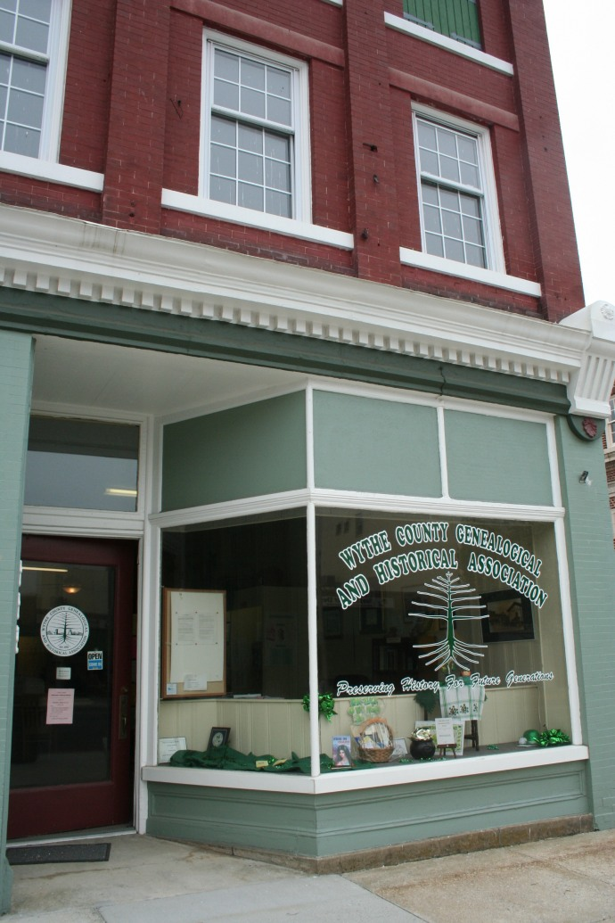 Wythe Co, Va Historic Society