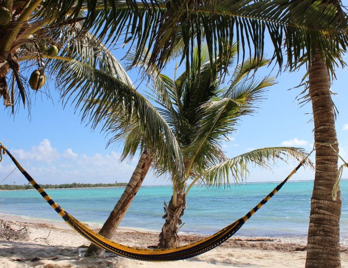 Yellow hammock, Soliman Bay