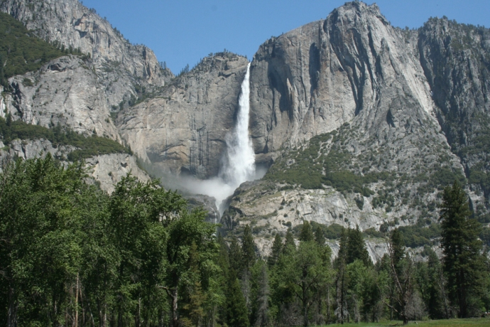 Yose-Yosemite Falls, hori