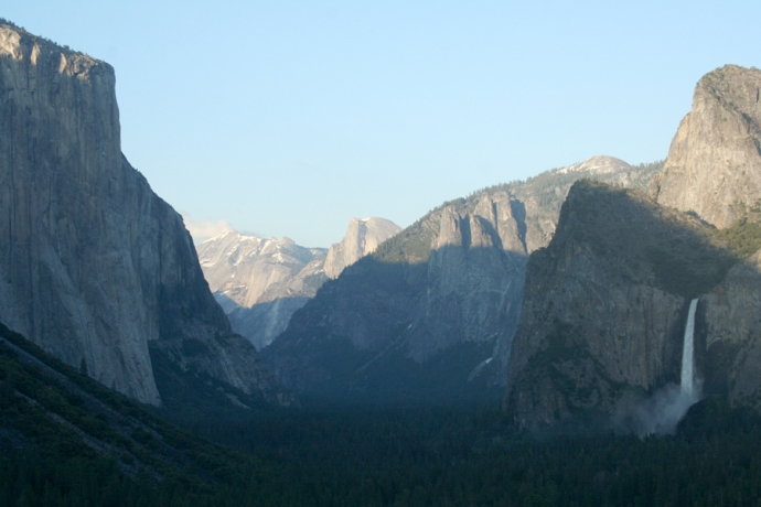Yosemite-Sunset at Tunnel View