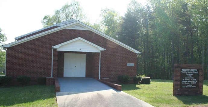 Abbotts Creek Primitive Baptist Church
