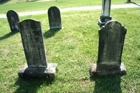AC Mission Bap, Spurgeon & Clinard headstones