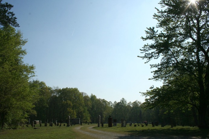 AC Prim Baptist Cemetery far view