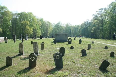 AC Prim Baptist Cemetery headstones 2