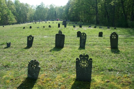 AC Prim Baptist Cemetery headstones