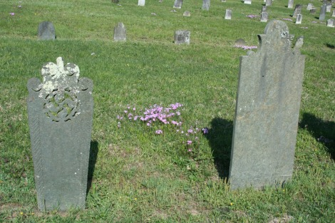 AC Prim Baptist, headstones and flowers