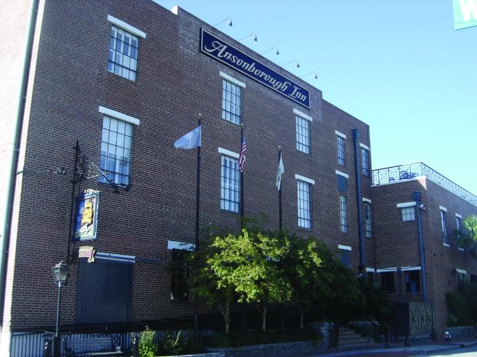 Ansonborough Inn side view