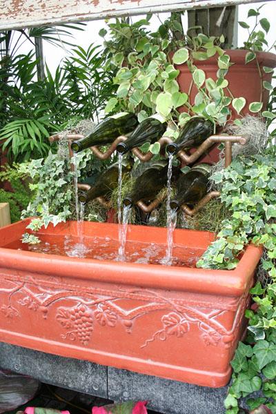 biltmore bottle fountain