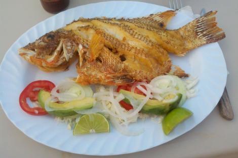 Chamico's whole fish
