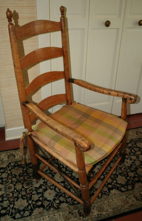 Jack Clinard's antique chair