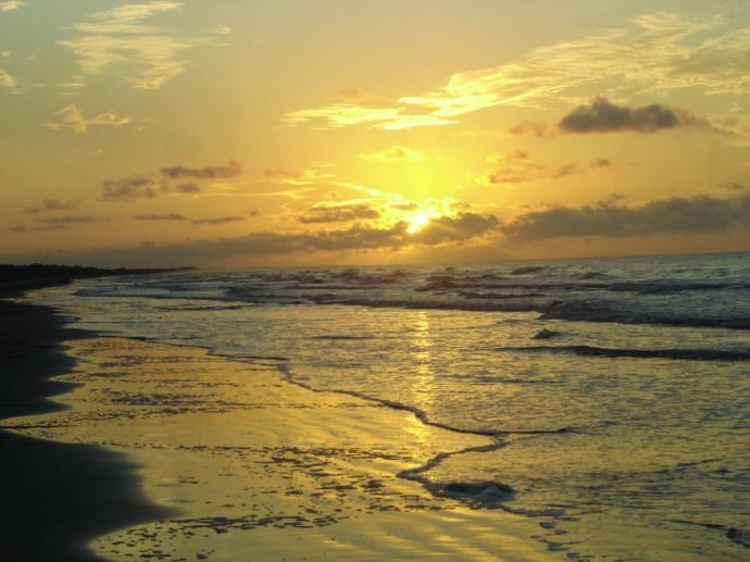 Kiawah Island hori sunrise
