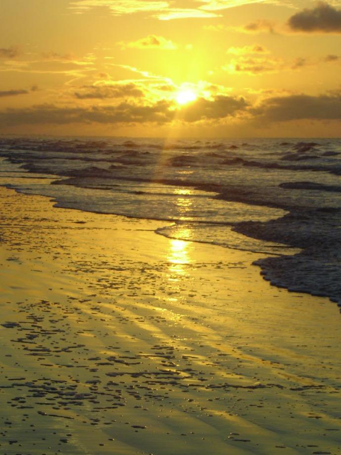 Kiawah Island vert sunrise