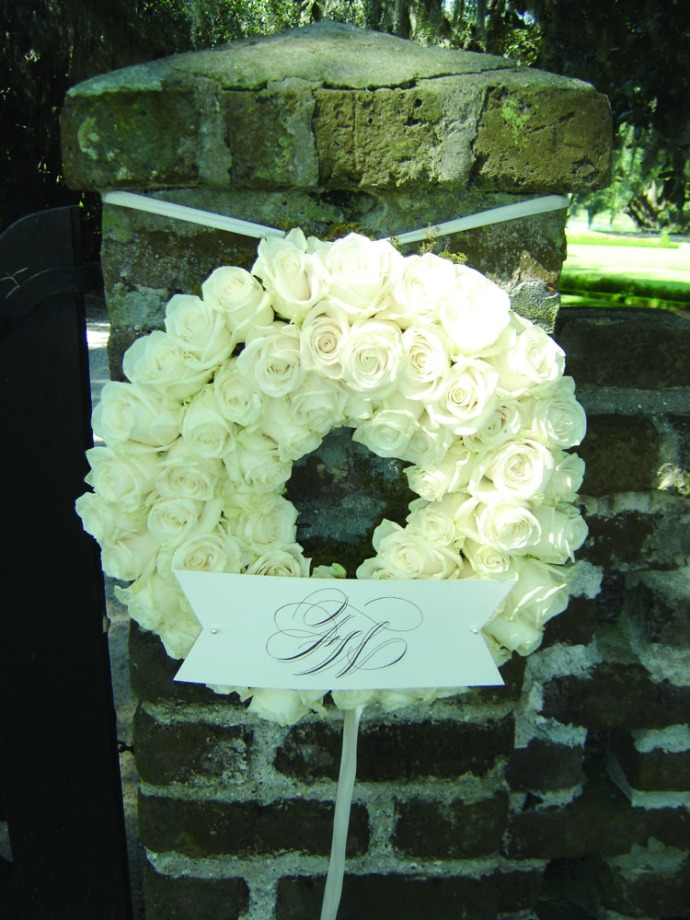 Middleton Place bridal wreath
