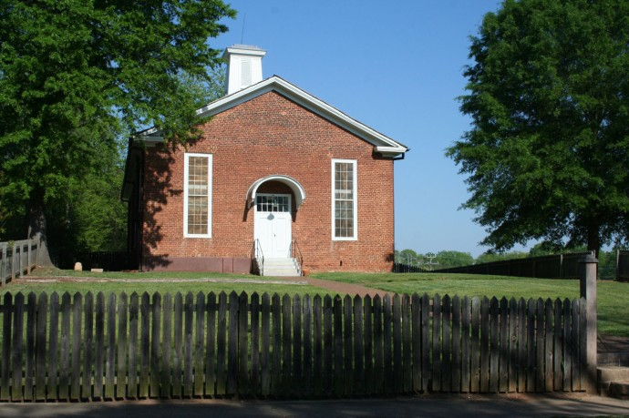 Old Salem little brick church