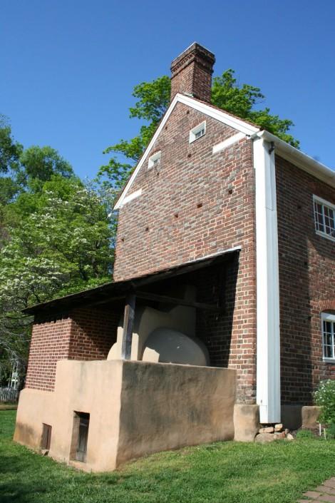 Old Salem oven