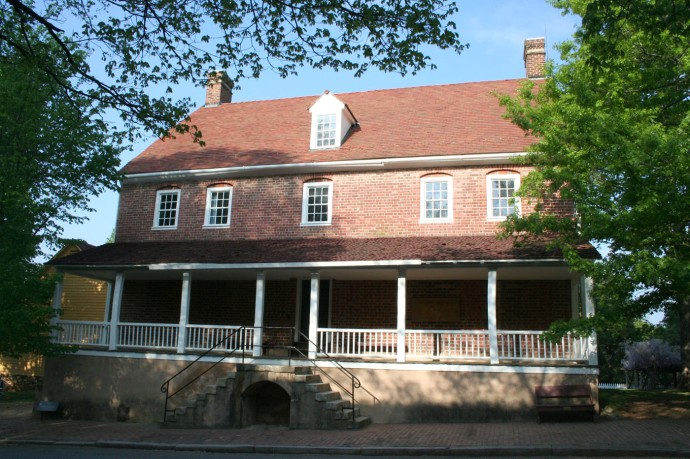 Old Salem Tavern, brick