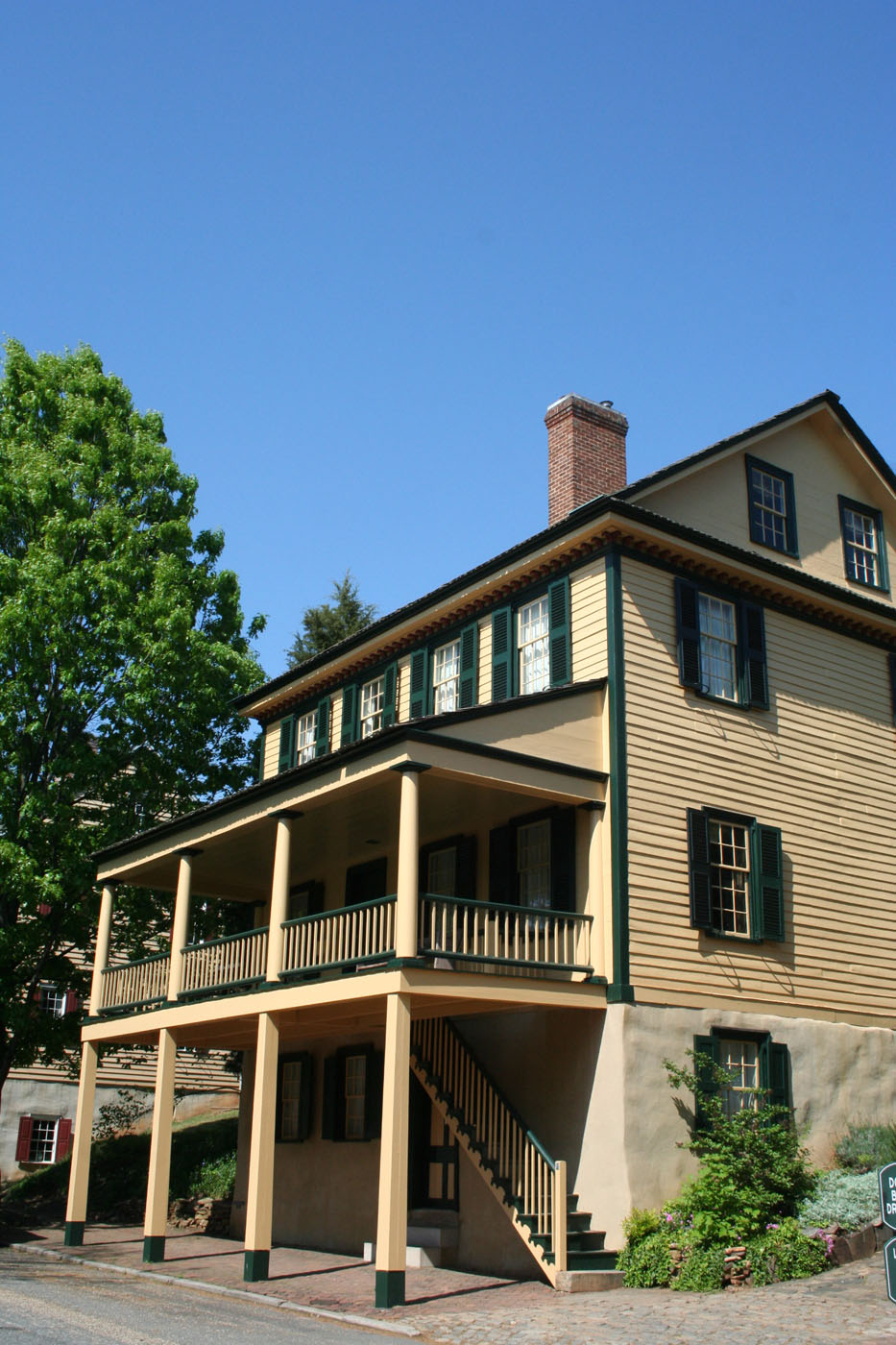 Moravian Bethania and Old Salem, N.C., Clinard History   busybeetraveler