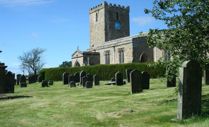 eng-ext of ogles castle parrish church