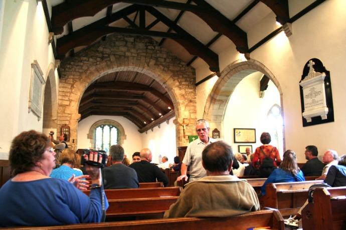 Eng- inside Ogle Chapel, Egling