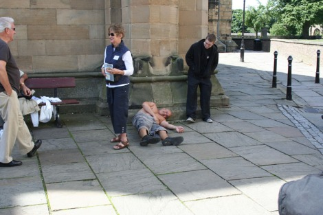eng-jim on ground, hexham