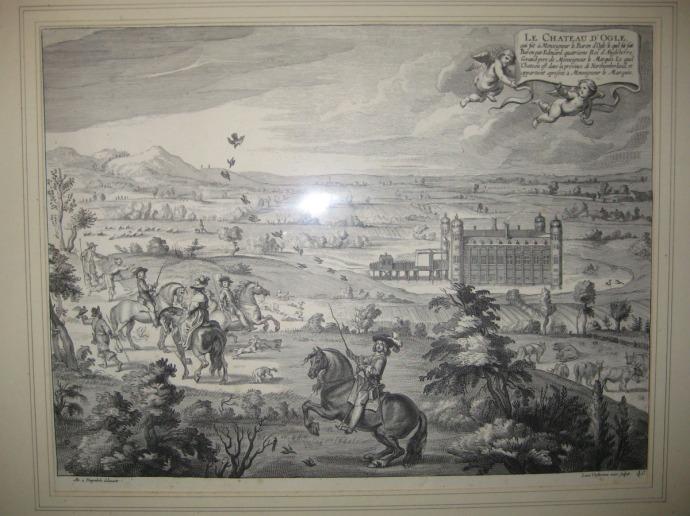 Eng, Ogle Castle print