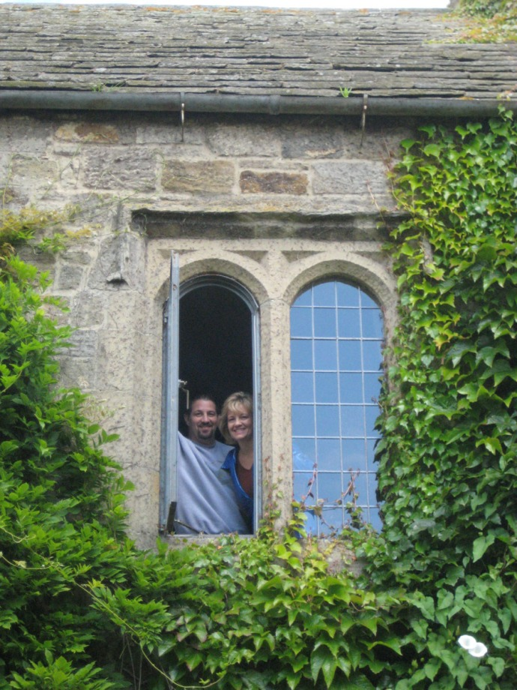 Eng, Ogle Castle window, Shawn & Starr