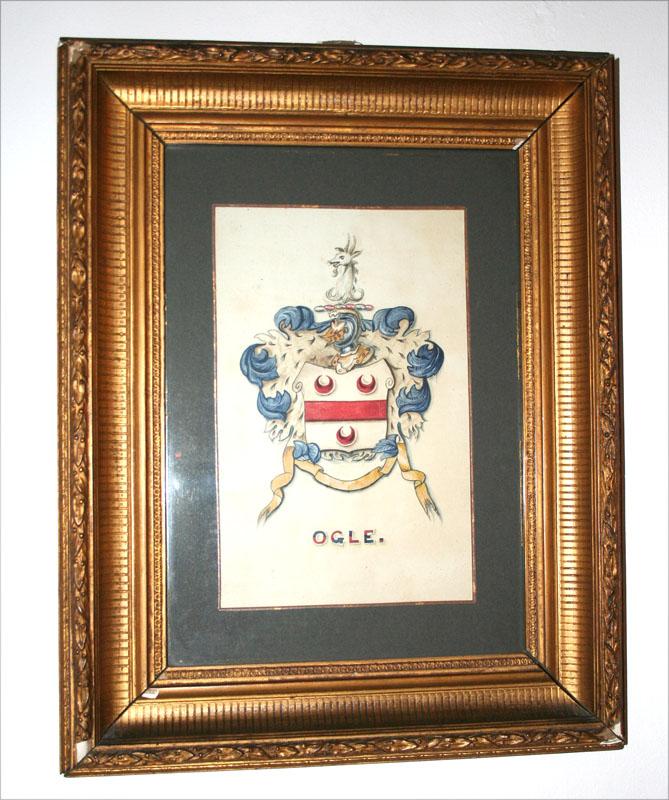 eng-ogles castle crest pic
