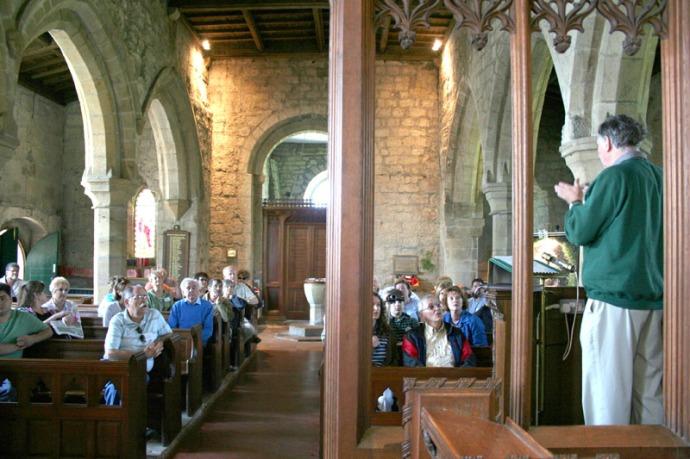 eng-ogles group at parish church
