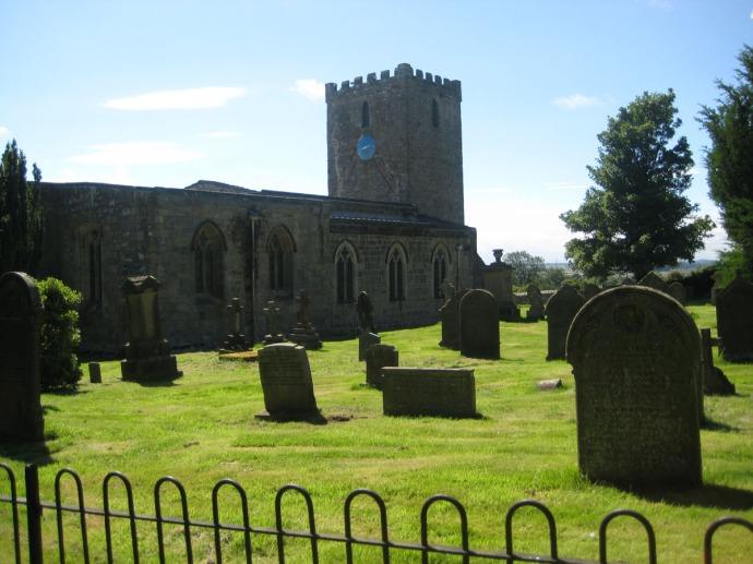 Eng. St. Mary church & cemetery