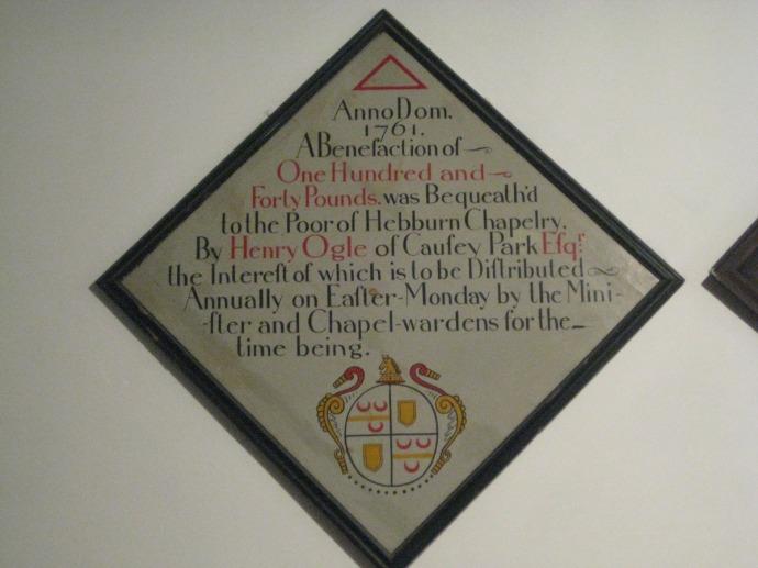 Eng, St. Mary Henry Ogle memorial