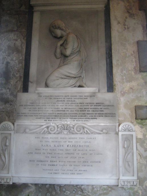Eng, St Mary John Ogle memorial