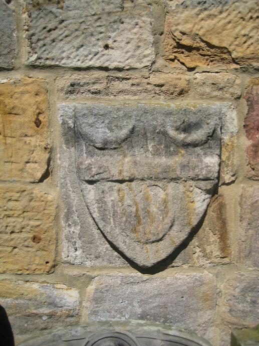 Eng, St. Mary Ogle cornerstone