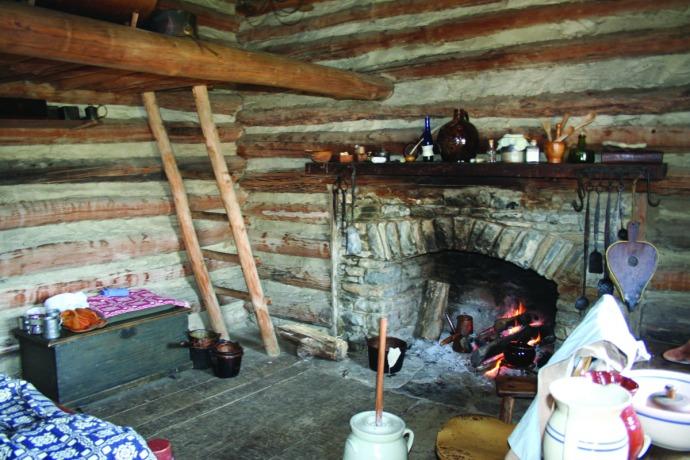 manskers, 2nd cabin interior