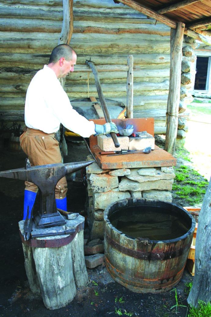 manskers, blacksmith