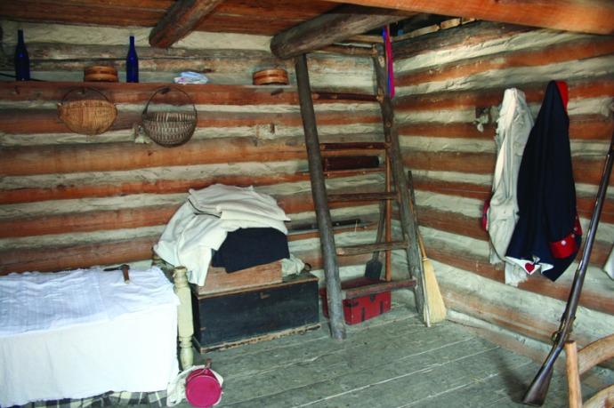 manskers, cabin ladder:room
