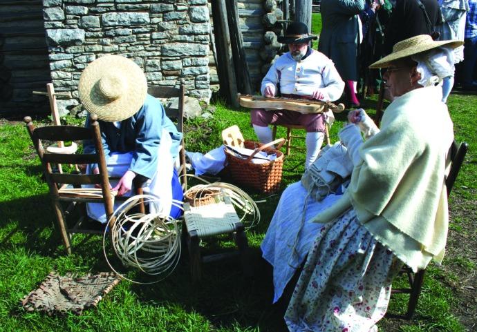 manskers, knitter, chair, dulcimer