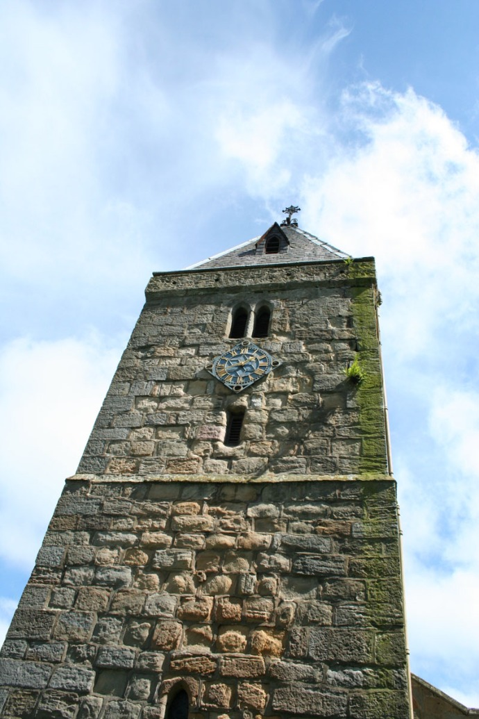Ogle chapel tower vertical