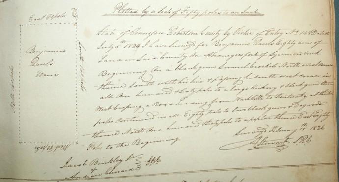 Rawls, Benjamin, 80 acres, 1826