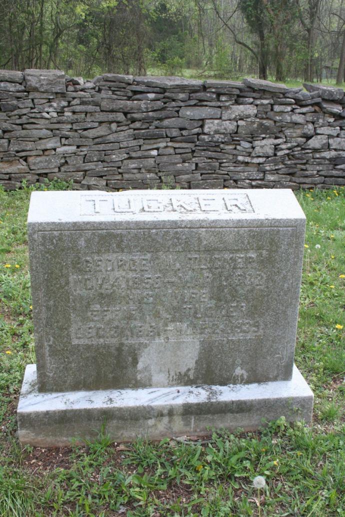 Villines Cemetery, George W. Tucker, Effie