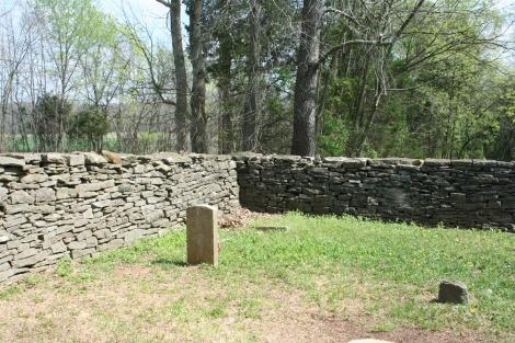 Villines Cemetery, Thomas Kilgore corner 2
